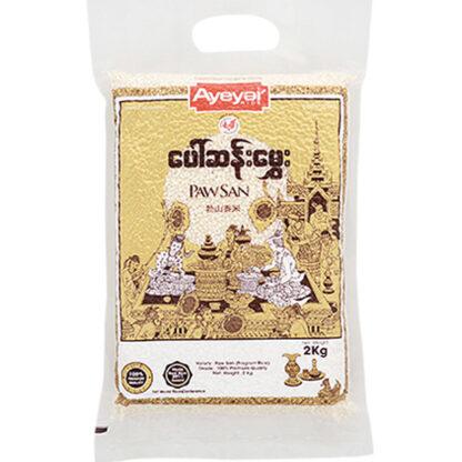 Gạo thơm Paw San Ayeyar 2kg