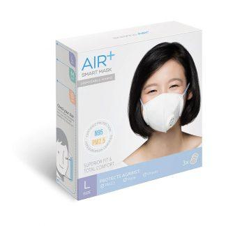 Khẩu trang thông minh AIR+ Singapore size L