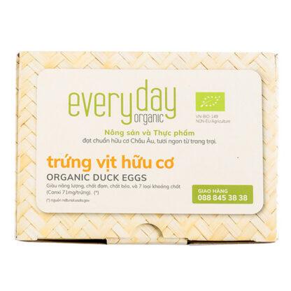 Trứng vịt hữu cơ Everyday (6 quả)