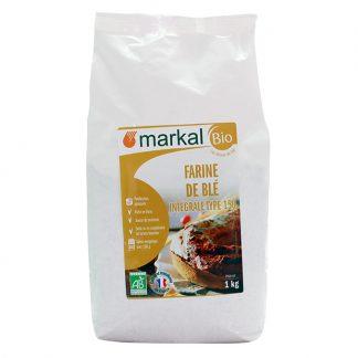 Bột mì nguyên cám hữu cơ T150 Markal 1kg