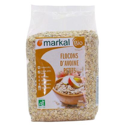 Yến mạch hữu cơ cán dẹt Markal 500g