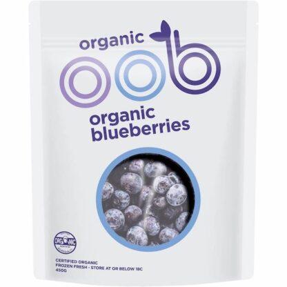 Hỗn hợp Việt quất hữu cơ đông lạnh OBB 450g