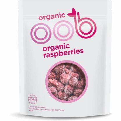 Hỗn hợp Phúc bồn tử đỏ hữu cơ đông lạnh OBB 450g