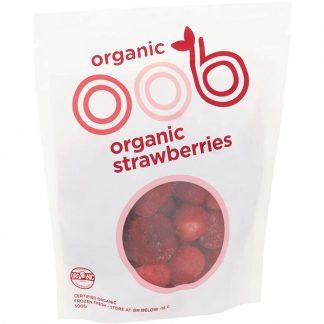 Hỗn hợp Dâu tây hữu cơ đông lạnh OBB 450g