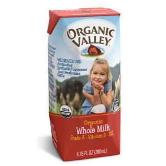 Sữa bò hữu cơ nguyên kem Organic Valley 200ml