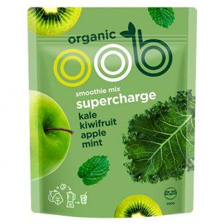 Hỗn hợp Táo, Kiwi và Cải xoăn hữu cơ đông lạnh OBB 450g