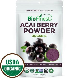 Bột quả Acai berry hữu cơ BioFinest 114g