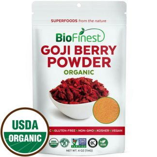 Bột kỷ tử (goji berry) hữu cơ BioFinest