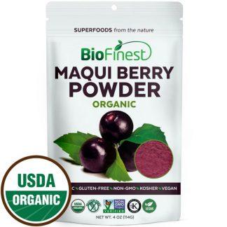 Bột quả Maqui berry hữu cơ BioFinest