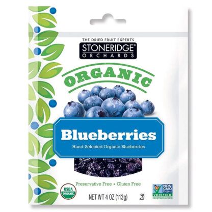 Việt quất (blueberry) hữu cơ sấy khô Stoneridge Orchards