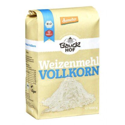 Bột mì nguyên cám hữu cơ Bauckhof VollKorn