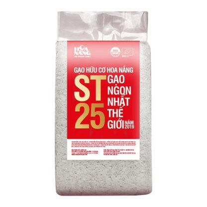 Gạo ST25 hữu cơ Hoa Nắng 1kg