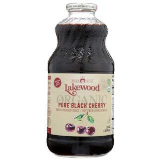 Nước ép cherry đen hữu cơ nguyên chất Lakewood 946ml