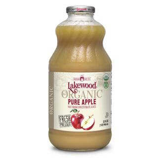 Nước ép táo hữu cơ nguyên chất Lakewood 946ml