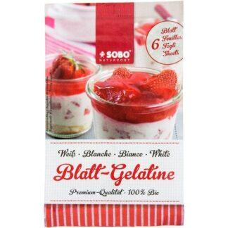 Gelatine hữu cơ Sobo Naturkost (dạng bột) 9g