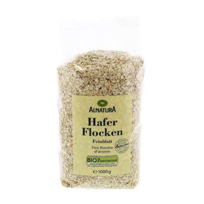 Yến mạch hữu cơ cán dẹt Alnatura Haferflocken Feinblatt 1kg