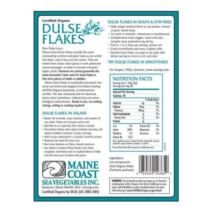 Tảo biển hữu cơ Đại Tây Dương Dulse Flakes